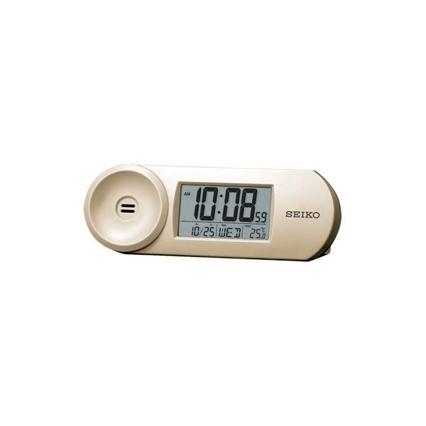【宏崑時計】SEIKO精工電子鬧鐘 溫度顯示、音量控制 、星期日期顯示 QHL067A 精工原廠保固一年