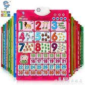 兒童有聲掛圖1-2歲女寶寶玩具益智力開發男孩小孩子0到3周歲以下4 科炫數位