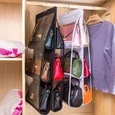 包包收納掛袋衣櫃透明布藝防塵袋墻掛家用整理懸掛收納架櫃盒神器ღ夏茉生活