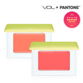 VDL x Pantone 草綠色果凍透明感腮紅(1.8g) 兩款可選【小三美日】2017限量版