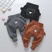 嬰兒秋冬季褲子2019新款冬裝男童加絨大PP女寶寶長褲兒童洋氣童裝 滿天星