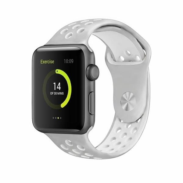 Apple Watch 38/40mm 亮彩運動防水錶帶