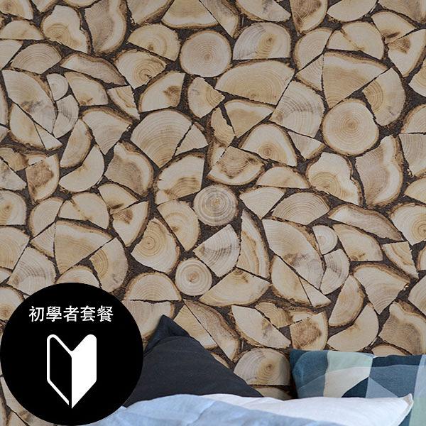 木紋仿真壁紙  rasch(德國壁紙) 2020 /130359+施工道具套餐