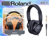 【小麥老師樂器館】現貨! 樂蘭 Roland RH-5 個人監聽耳機 電子鼓 數位鋼琴