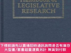 二手書博民逛書店Handbook罕見Of Legislative ResearchY255174 G Loewenberg H