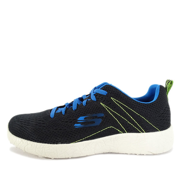 Skechers Energy Burst Second Wind [52108BKBL] 男鞋 運動 休閒 輕量 黑