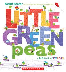 【麥克書店】LITTLE GREEN PEA 《主題:基礎認知》