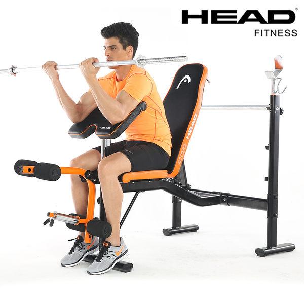 國民運動會 | 多功能舉重訓練床H781 啞鈴訓練床屈臂訓練平臥推舉小腿訓練【HEAD海德】