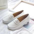氣墊鞋 2021新款春秋白色護士鞋女軟底防滑平底氣墊厚底坡跟舒適醫院防臭 小天使 99免運