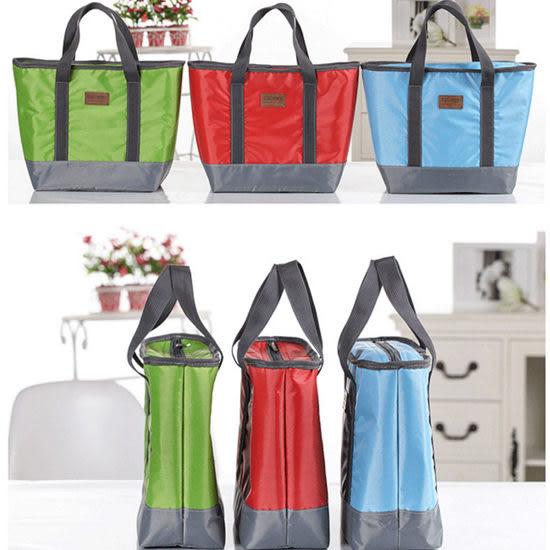 ◄ 生活家精品 ►【T10】牛津布手提保溫袋 保冷包 冰袋 便當袋 副食品 野餐袋 餐盒
