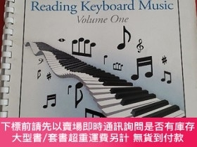二手書博民逛書店READING罕見KEYBOARD MUSIC(Voleme One)Y23470 C.W. Reid 詳見圖
