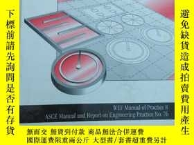 二手書博民逛書店Design罕見of Municipal Wastewater