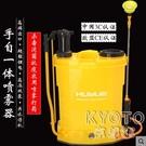 20L手動噴霧器手壓式手自一體電噴壺農用電動打藥桶鋰電池YJT 【快速出貨】