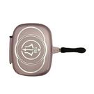派樂魔法烤盤 雙面煎烤鍋 1組附矽膠食品烤肉夾(小)-秒翻面翻轉健康鍋
