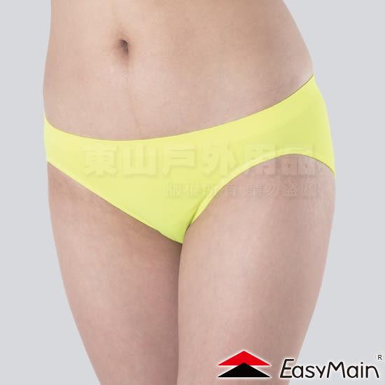 EasyMain 衣力美 YE00009-43蘋果綠 女無縫高彈性內褲 排汗機能運動內褲/透氣快乾三角褲 大尺碼