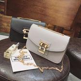 斜背包 包包小方包復古韓版時尚潮單肩斜背包手機小包包女包   9號潮人館
