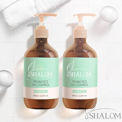 Shalom 希樂~(2入組)益生菌控油淨化洗髮精500ml