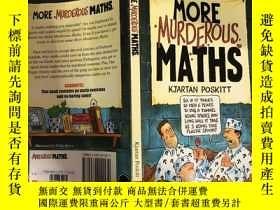 二手書博民逛書店MORE罕見MURDEROUS MATHS 更多的數學Y200392