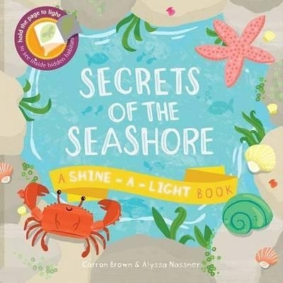 【發光書】SECRETS OF THE SEASHORE /平裝繪本《主題: 海洋世界》
