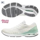 MIZUNO WAVE RIDER 24 WAVEKNIT 女鞋 慢跑 ENERZY中底 柔軟 白【運動世界】J1GD207502