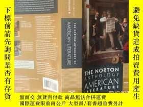 二手書博民逛書店the罕見Norton anthology american Literature eighth edition