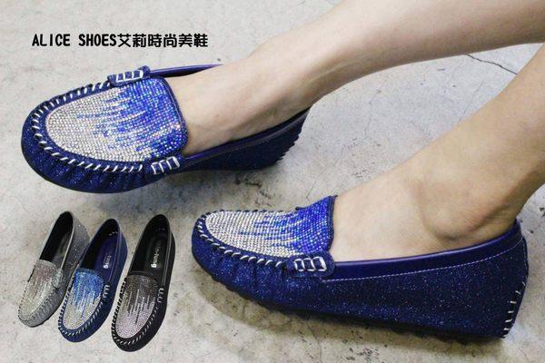 ALICE SHOES艾莉時尚美鞋 請把握!!搶鮮擁有內增高娃娃鞋@879@豆豆鞋莫卡辛台灣製造MIT