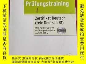 二手書博民逛書店Prufungstraining罕見DEUTSCH B2 含盤2張Y335486 Katharina Barb