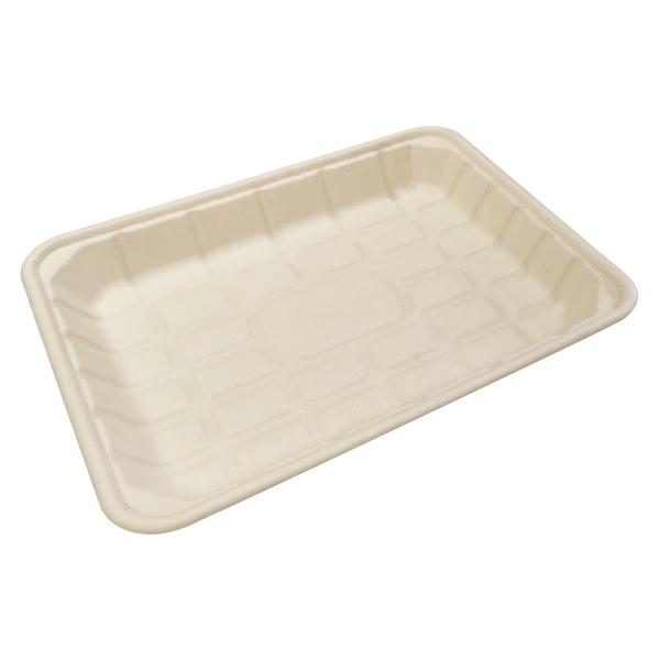 【點秋香】植纖食器15吋長方盤 (3入)
