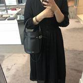 ■專櫃73折■Celine 瑟琳 柔軟珠地小牛皮袖珍型 Nano Bucket 2用包