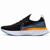 Nike React Infinity Run Flyknit 男鞋 慢跑 休閒 編織 訓練 緩震 黑 藍【運動世界】CD4371-007