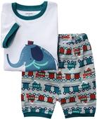 貝比幸福小舖【42012】歐美家居服/短袖套裝/睡衣-款式8009