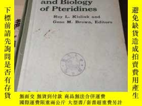二手書博民逛書店chemistry罕見and biology of pterid