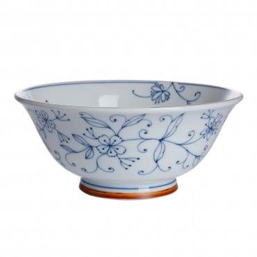 線唐草日式輕量拉麵碗19cm