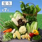 楓康安全蔬菜一週套餐★免運費...