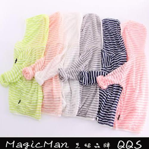 【現貨】童裝 長袖連帽防曬外套 (螢光綠/110)WNN0499★ Magicman ★