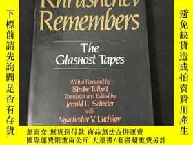 二手書博民逛書店Khrushchev罕見Remembers . The Glasnost Tapes(赫魯曉夫回憶錄 . 公開的磁