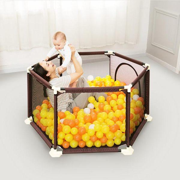 兒童游戲圍欄室內寶寶學步家用安全防護柵欄嬰兒幼爬行墊護欄禮物  ATF  魔法鞋櫃