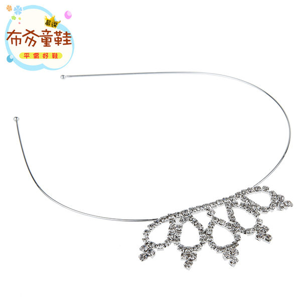 《布布童鞋》韓風設計小皇冠造型公主髮箍 [ O7M728Q ] 銀色款