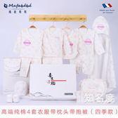 禮盒套裝 新生兒禮盒套裝嬰兒衣服春夏季0-3個月6剛初出生滿月寶寶用品T 8色
