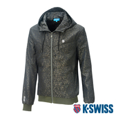 K-SWISS Camo Pannel Jacket印花風衣外套-男-迷彩
