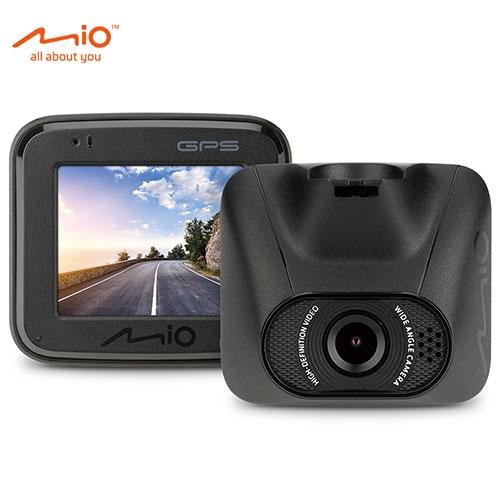 Mio MiVue 夜視進化支援雙鏡GPS+測速大光圈行車紀錄器C550【愛買】