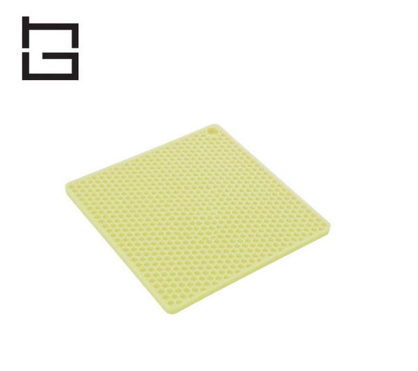 【HG】方形矽膠隔熱墊 (綠) (現貨+預購)