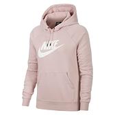 Nike AS NSW Essntl Flc GX Hoodie 女 藕粉 連帽 休閒 長袖 BV4127-645