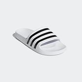 ADIDAS ADILETTE AQUA [F35539] 男女 涼鞋 拖鞋 雨鞋 水鞋 海灘 游泳 戲水 白黑