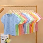 女童男童T恤純棉2020夏款新款兒童清新短袖鏤空上衣韓版潮2-7歲 幸福第一站