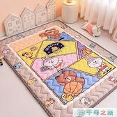 地墊兒童游戲墊寶寶爬行墊嬰兒地毯防滑秋冬家用隔涼【千尋之旅】