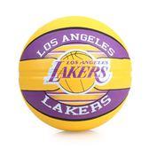 SPALDING 湖人 Lakers  籃球 (戶外 NBA 隊徽球 斯伯丁 免運 ≡體院≡