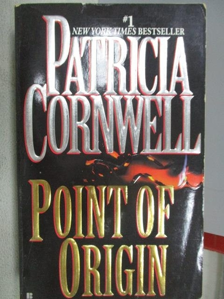 【書寶二手書T7/原文小說_MOP】Point of Origin_Patricia Cornwell