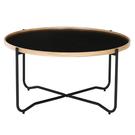 【歐雅系統家具】厄勒茶几 - 矮款 / 現成茶几 / 茶几 / 黑 / 北歐風 / 矮桌 / 邊桌