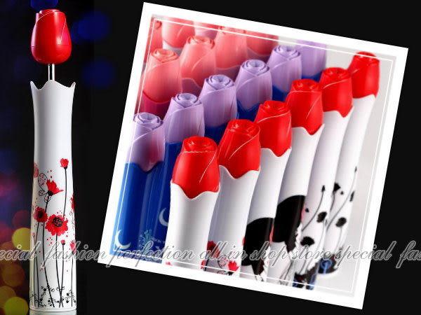 【DK280】韓版 浪漫玫瑰花瓶雨傘 折傘 折疊雨洋傘 瓶裝傘~不挑款★EZGO商城★